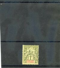 GUADELOUPE Sc 44(YT 39)*F-VF HR 1892 1F OLIVE $80