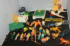 Vintage 1974 Fisher Price Adventure People HUGE LOT!