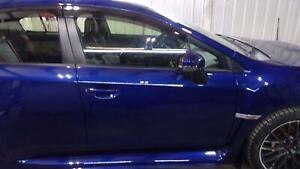 2015-2017 Subaru WRX STi Front RH Passenger Side Door Assembly Lapis Blue (K3X)