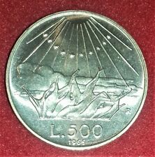 500 LIRE ARGENTO 7° CENTENARIO  NASCITA DI DANTE ALIGHIERI 1965  FDC QUASI FS