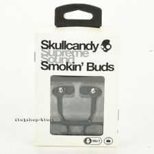 Skullcandy Smokin In-Ear Buds Earphones Headphones Stereo Headset w/Mic Black