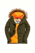 NEW WOMENS RRP£124.99 XL SIZE 16 SUPERDRY EVEREST DUFFLE COAT KHAKI JACKET BNWT