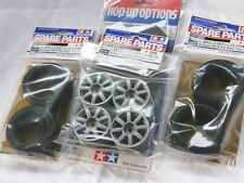 TAMIYA 1/10 RC CAR Tire(50684)+Wheel(51334)+Hard inner SET for M-Chassis M.grip
