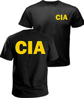 CIA t-shirt, government agent t-shirt, secret service, police, FBI t-shirt