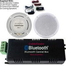 Inalámbrico/Bluetooth Amplificador & 2x 80W Altavoz De Techo Kit–Compacto