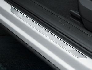 Genuine Volkswagen Tiguan + AllSpace Front Aluminium Door Scuff Plates (2016-ON)