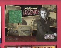 VIVIEN LEIGH SCARLETT O'HARA GONE WITH THE WIND WORN RELIC SWATCH CARD #d63/100