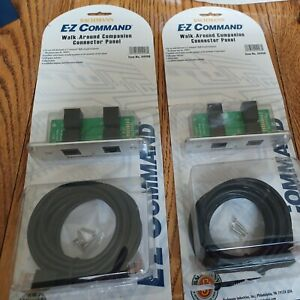 Two Bachmann 44908 EZ Command Walk-Around Companion Panel Connectors