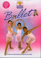 Learn Ballet Step-by-Step (DVD, 2009) Tinkerbell Dance Studio for Kids BRAND NEW