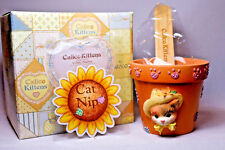 Calico Kittens: Catnip Planter - 204102C - Flower Pot, Seed Packet & Plant Stick