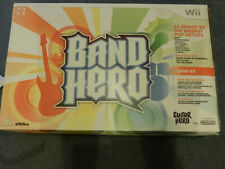 Band Hero Wii, Drums, Microphone & Guitar, Game Nintendo - never been used