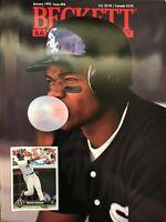 Beckett Baseball Card Monthly January 1993 Issue #94 Frank Thomas