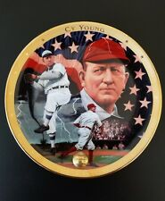Cy Young Vintage Detroit Tigers Plate – The Cyclone Franklin Mint 24K Plate