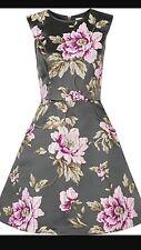 NWT Ted Baker Gunmetal Dress Size 1
