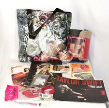 TAYLOR SWIFT Swag Red Tour VIP Tote Bag Blanket Tour Programs VIP Pass Guitar +