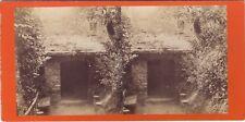 Gênes Genova Villa Pallavicini Italie Italia Stereo Albumine ca 1880