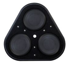 """Vibe Blackair P8-v6 Bass Box 8"""" subwoofer with twin 8"""" subwoofers in box"""