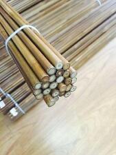 "12pcs Archery Bamboo Arrow Shaft 33"" 35-40# Brown No Nock Handmade Tonkin Shafts"
