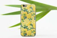 Citrus iPhone 7 8 Plus Silicone Cover Lemon iPhone XR XS Case Yellow iPhone Skin