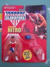 NEW Vintage Mattel American Gladiators NITRO Zipline Figure Lot CHEAP! 80s Toy