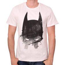 Oficial DC Comics Batman CAPUCHA Crema de efecto envejecido Pintura T-Shirt