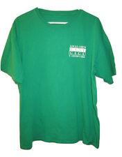 LADY GAGA Local Crew T shirt Concert Tour XL 2010 N America Green Tee