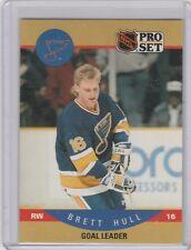 1990-91 Pro Set Blues Hockey Card #395 Brett Hull
