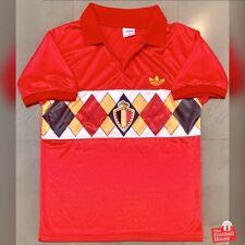 Authentic Vintage Adidas Belgium 1984-86 Home Jersey. Size S, Excellent Cond.