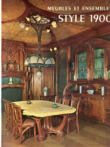 Art Nouveau Furniture Design - Majorelle Guimard Galle Etc. / Book (French Text}