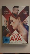 Code Ava - Trained to Kill [DVD] 2020 Jessica Chastain Malkovich Colin Farrell