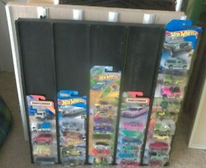 1:64 Diecast Car Display holds 50 Cars Hot Wheels Matchbox Custom Size available