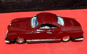 Vintage Tinplate Friction Volkswagen Karmann Ghia, Made in Japan
