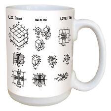 Rubik's Cube Mug. Large 15 Ounce Coffee Mug w/ Comfortable Handle. Quality Mug!