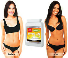 60 TANNING TABLETS PILLS (FOR 2 MONTHS)-SUNLESS TANNING-SELF TANNING-TAN BOOSTER