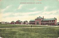 Postcard Jefferson Barracks St Louis Missouri