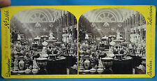 1862 Stereoview The International Exhibition No32 Prussian Court (2) NR