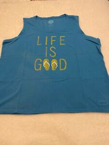 New w/o tags, Life is Good Womans Sleeveless XXL