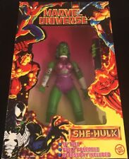 """SHE-HULK from Marvel Universe 10"""" Fully Poseable Including Accessory NEW"""