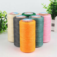 284 Yard Leather Waxed Flat Thread DIY String for Luggage Shoes Upholstery 0.8mm