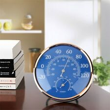 Large Round Thermometer Hygrometer Temperature Humidity Monitor Meter Gauge OE