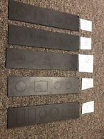 """Gamber-Johnson 2"""" Width, 8.75"""" Length Filler Panel for Consoles"""