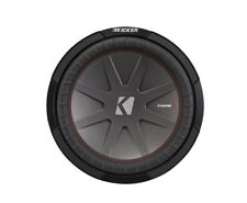 New listing Kicker 12 Inch 1000W Dual 2 Ohm Voice Coils CompR Car Subwoofer 43Cwr122