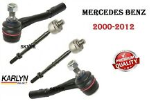 MERCEDES Left & Right Steering Inner & Outer Tie Rods SET Quantity of 4 KARLYN