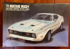 "NEW ARII Plastic Model Kit 1/24 Scale ""71 Mustang Mach-1 #31032-1500 Sealed"