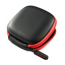 SoundMAGIC Earphone hard case - black & red