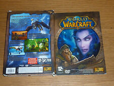 World of warcraft BLIZZARD dvd rom JEU PC windows XP vista MAC OS X game