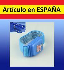 PULSERA descargador ELECTRICIDAD ESTATICA descargas anti calambre corriente azul