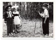 U032 Photographie vintage Originale Enfants photographe appareil photo