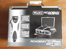 Wahl Academy Clipper Gift set - Heavy Duty Mains Clipper + Case & Towel - New