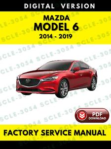 Repair Manuals Literature For Mazda 6 For Sale Ebay